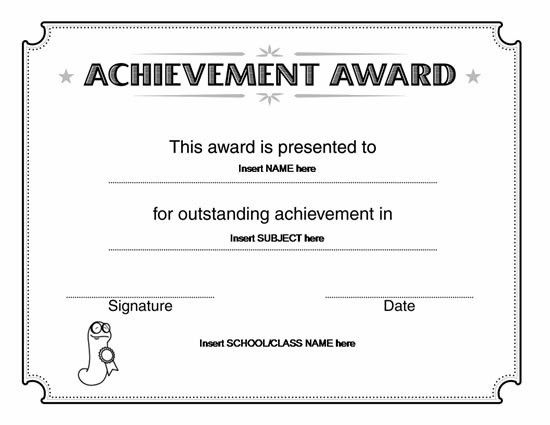 ms word certificate templates - Template
