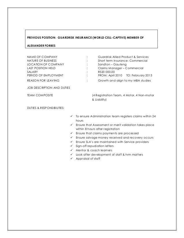 CV UPGRADE MADELA NGOZO October 2016