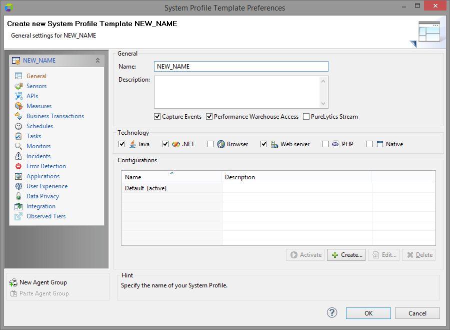 System Profile Templates - Dynatrace AppMon 6.5 - Dynatrace Community