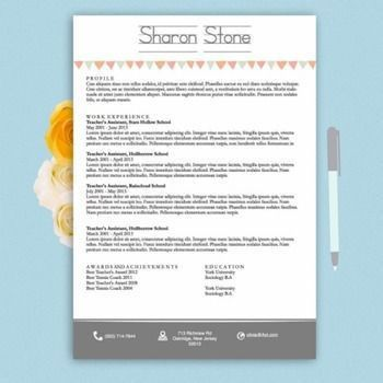 The 25+ best Teacher resume template ideas on Pinterest | Resume ...