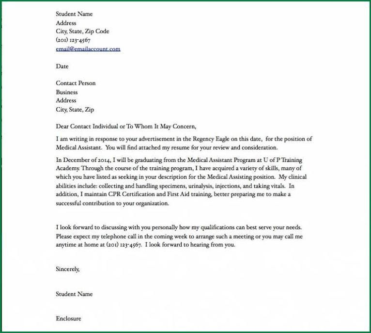 Medical Assistant Cover Letter No Experience.medical Assistant ...