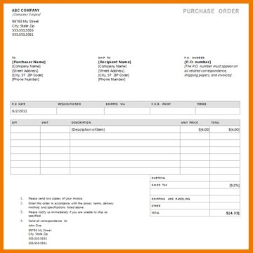 7+ food order form template word | Financial Statement Form