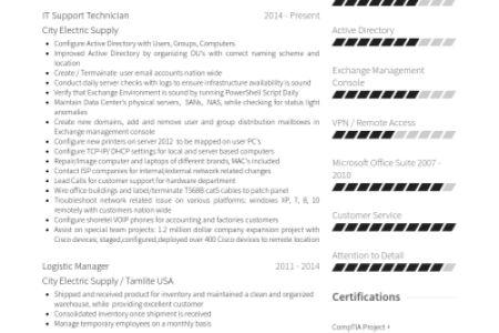 warehouse technician resume 9 warehouse technician resume sample