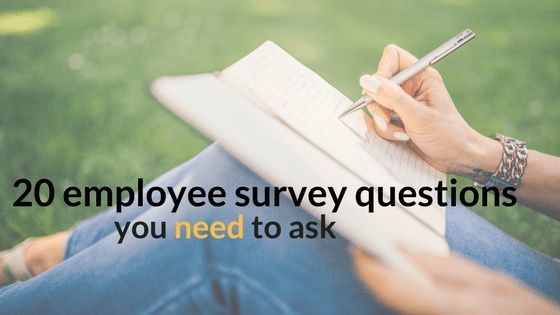 20 Essential Employee Engagement Survey Questions