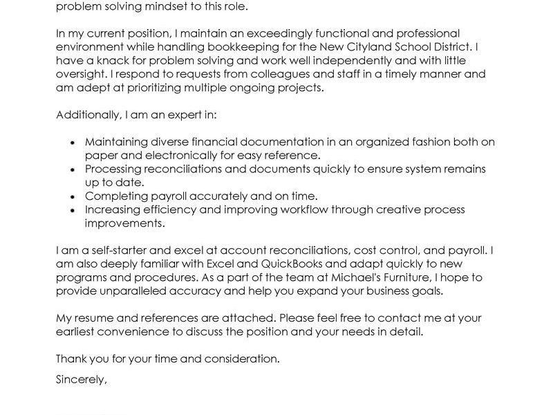 Bright And Modern Example Of A Great Cover Letter 1 Leading ...