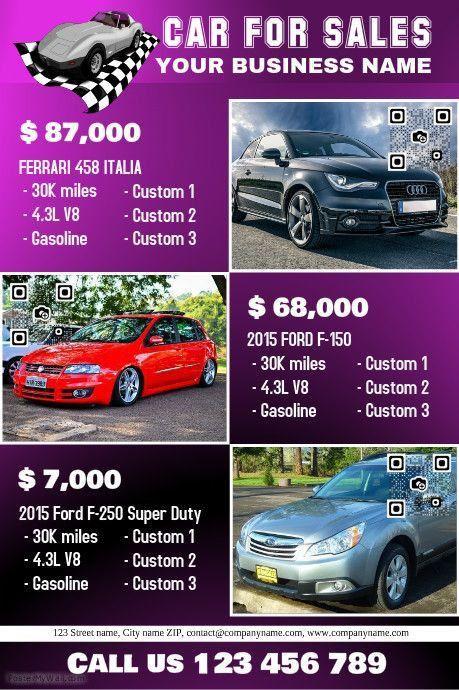 41 best Car Dealer Flyer (DIY) images on Pinterest | Posters ...
