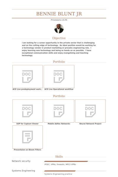 Computer Engineer CV Örneği - VisualCV Özgeçmiş Örnekleri Veritabanı