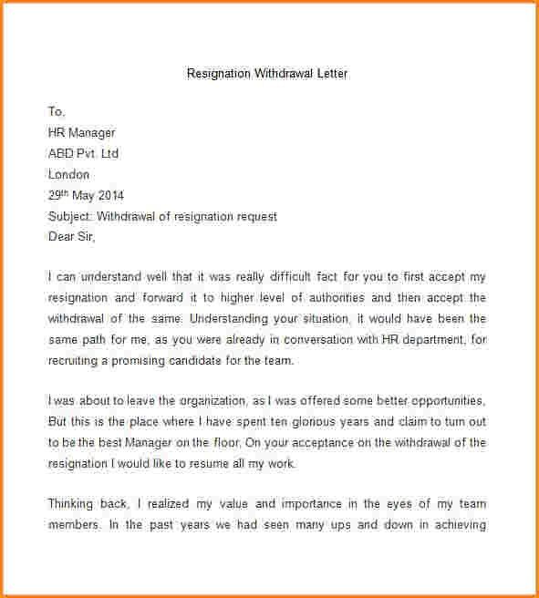 9+ formal resignation letter template word | receipts template