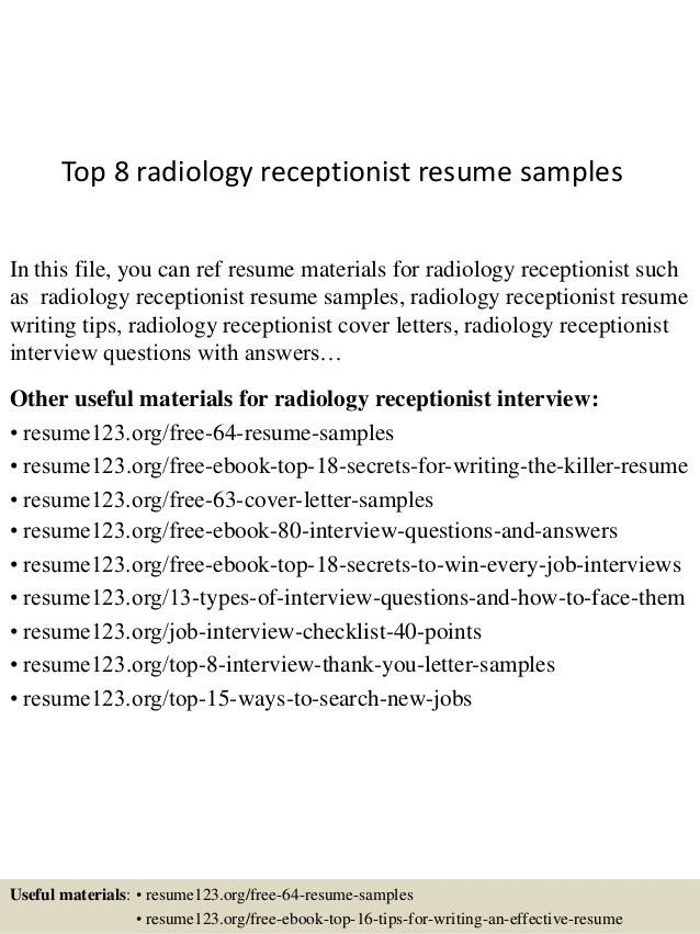 related free resume examples. radiology physician sample resume ...