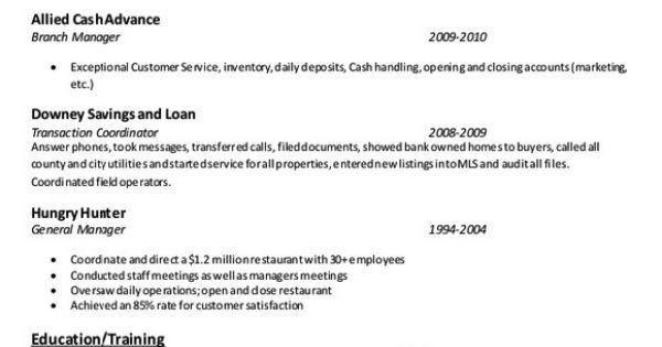 Document Imaging Specialist Resume Example - http://resumesdesign ...