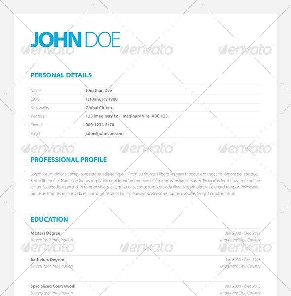 Sample Creative Resume. 50 Awesome Resume Designs That Will Bag ...