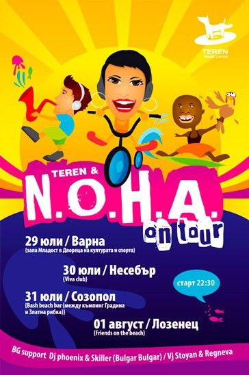 N.O.H.A event flyer design | Ralev.com Brand Design
