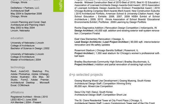 Project Architect Resume] Project Architect Resume Samples ...