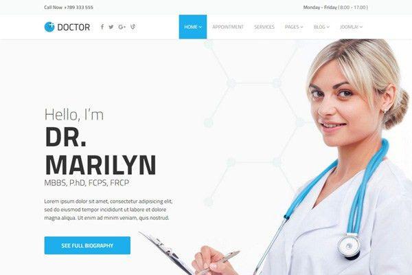 JS Doctor - joomla template