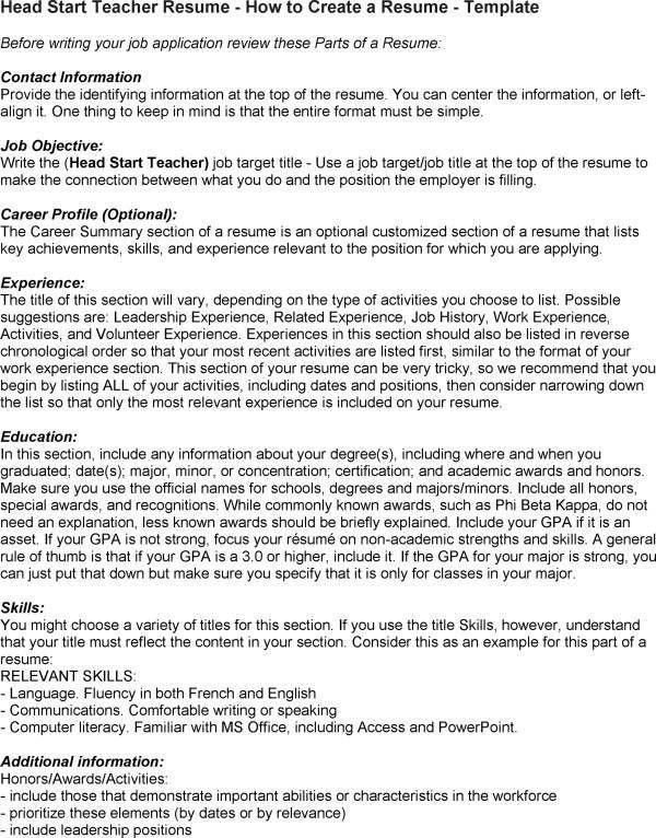 sample preschool teacher resume resume cv cover letter. sample ...