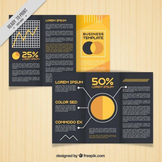Trifold Brochure Template Vector | Premium Download