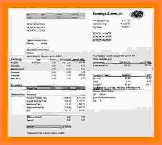 5+ fake paycheck stubs templates | Samples of Paystubs