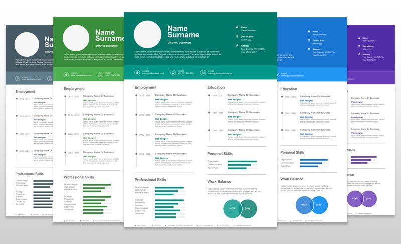 Infographic Resume » Infographic Resume Template Microsoft Word ...