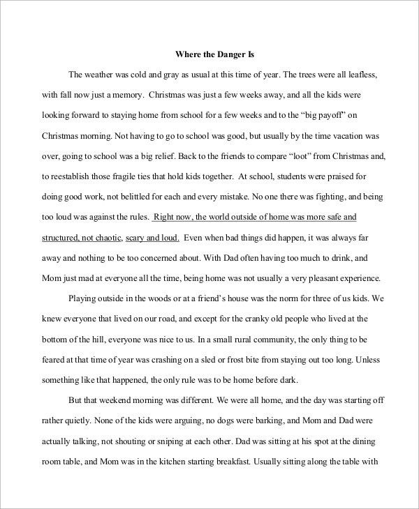 Descriptive Essay Example - 6+ Samples in PDF