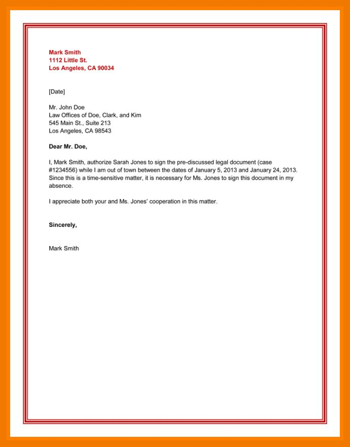 7+ authorization letter for bank statement | mailroom clerk