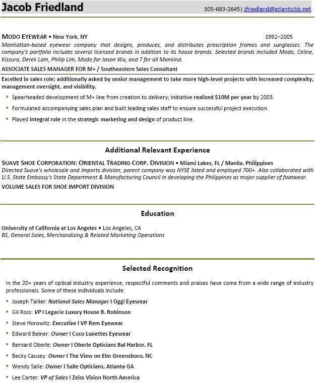 Retail Resume Template. Retail Store Resume Examples Resume Sample ...