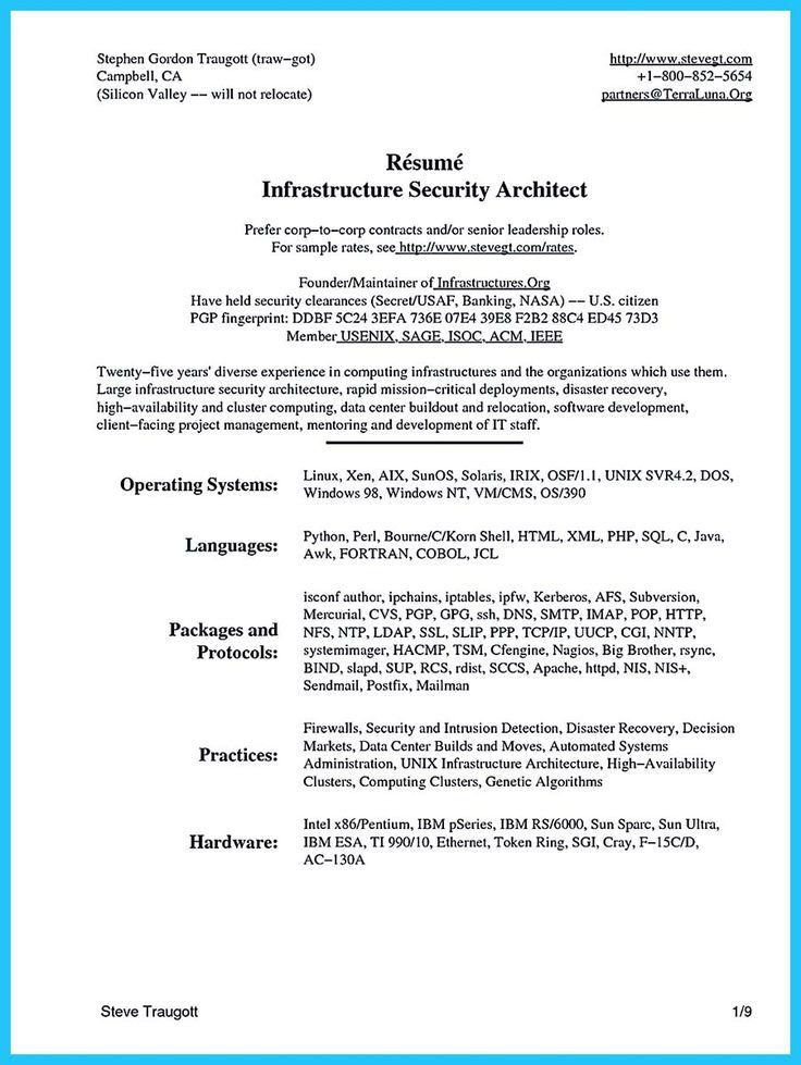 Best 25+ Architect resume ideas on Pinterest | Architecture ...