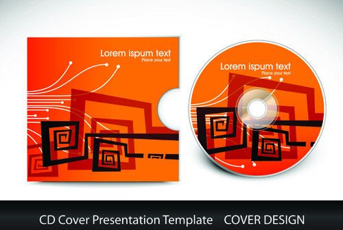 Cd cover template ai free vector download (54,444 Free vector) for ...