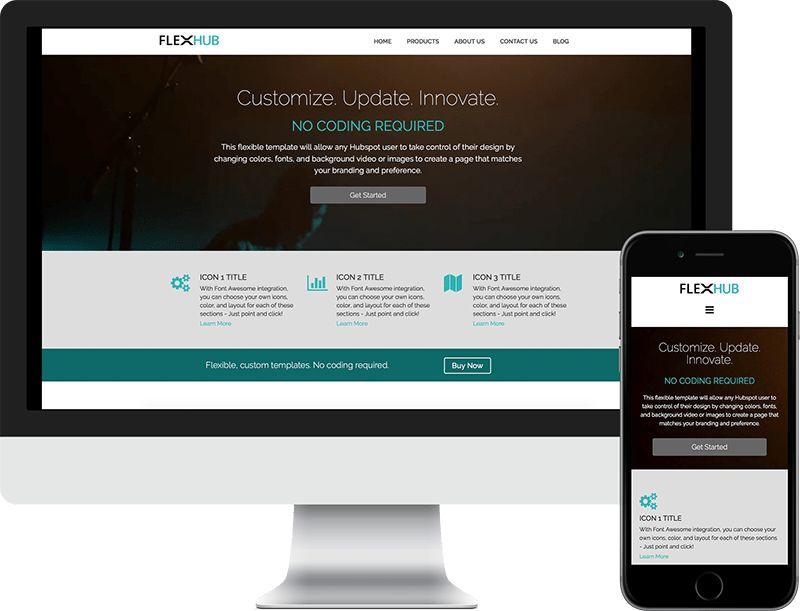 FlexHUB Premium Hubspot Templates | Begin Bound