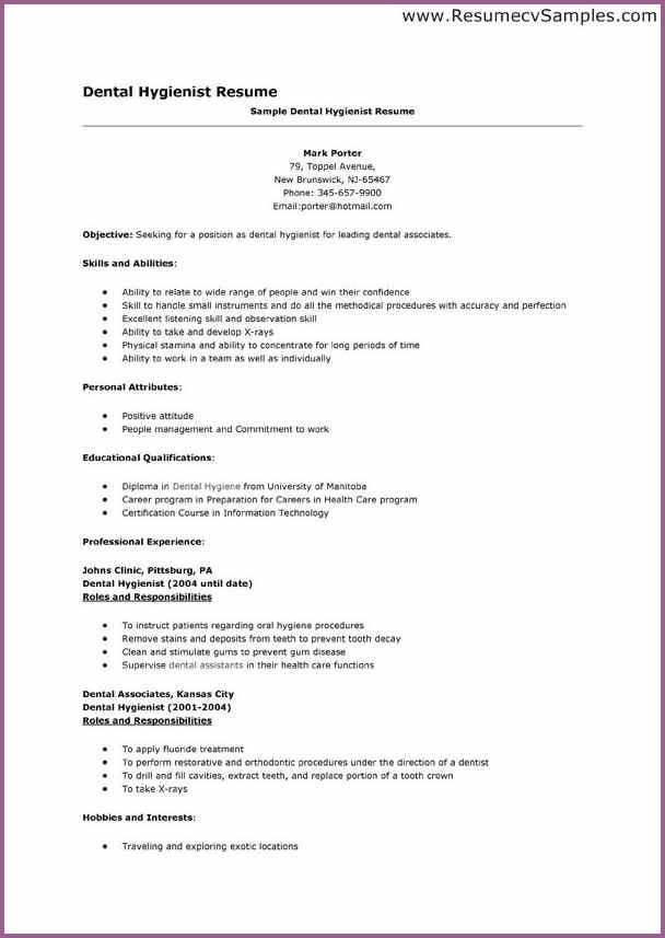 sample dentist resume templates dental assistant resume templates