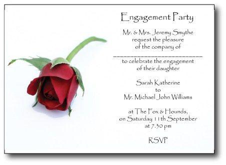Betrothal Invitation Card | PaperInvite