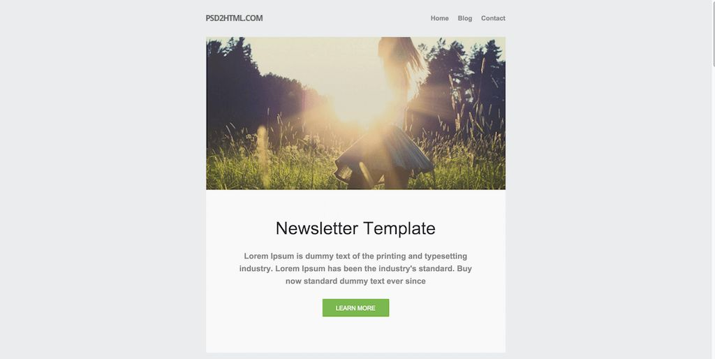 Top 25 Free Responsive HTML Email Templates 2017