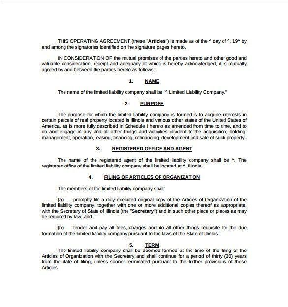 real estate partnership agreement template pdf format download ...