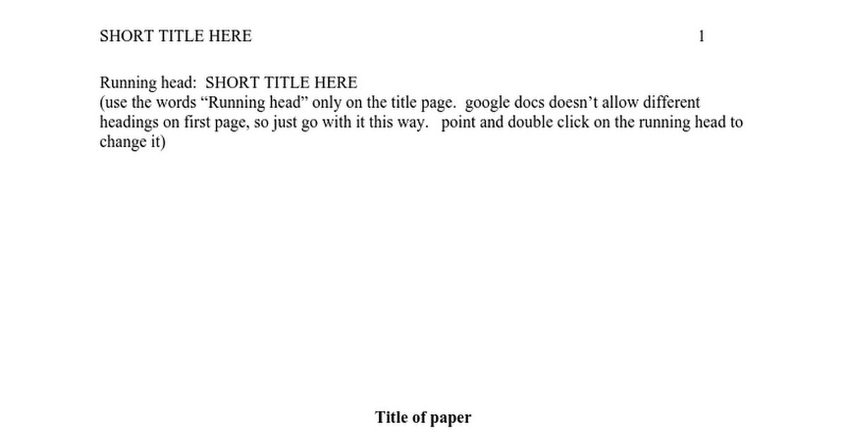 APA template for papers.doc - Google Docs