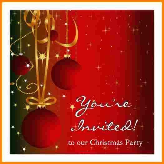 10+ free christmas invitations | budget template