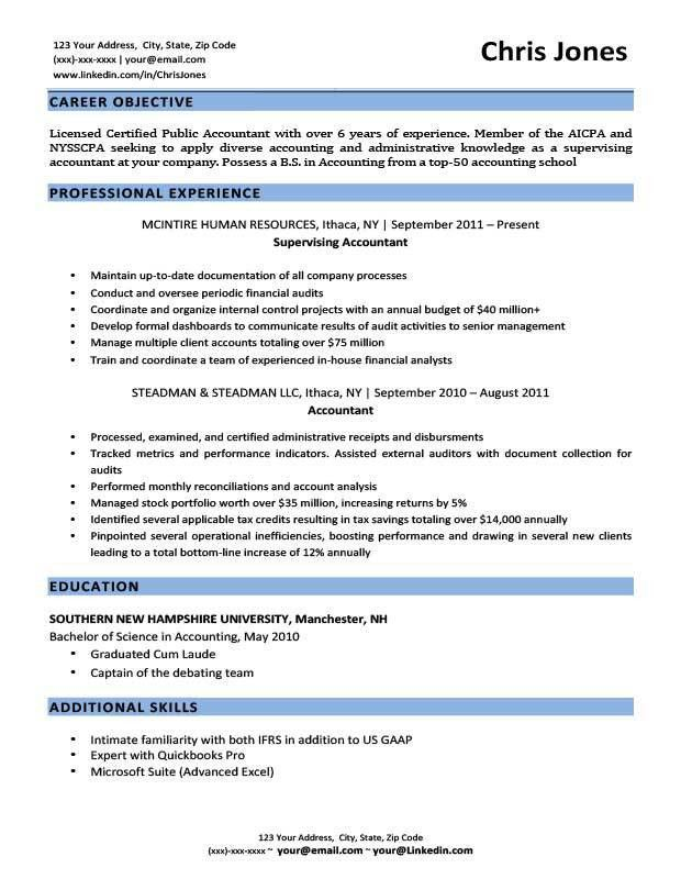 Download The Objective On A Resume | haadyaooverbayresort.com