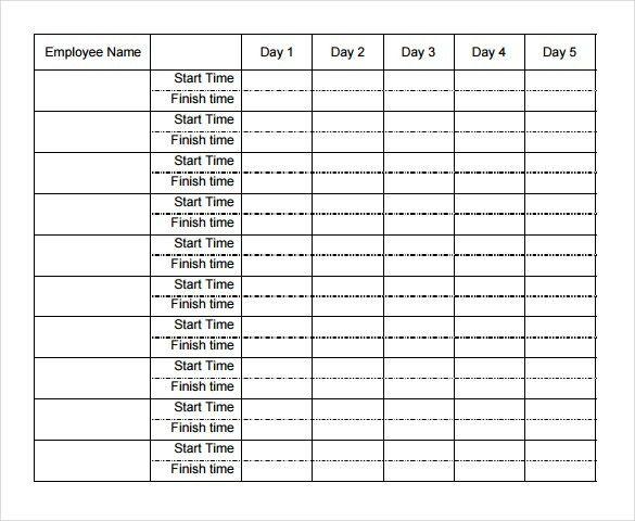 12+ Weekly Timesheet Templates – Free Sample, Example Format ...