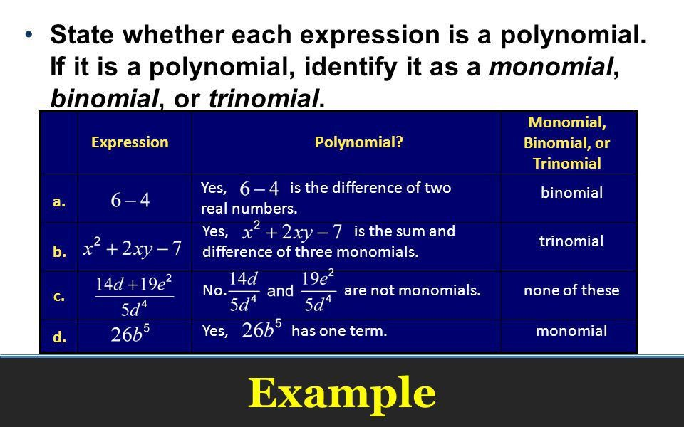 Algebra Adding and Subtracting Polynomials. - ppt download