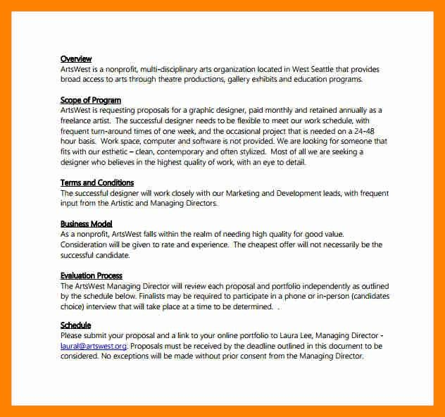 5+ graphic design proposal | resumes great