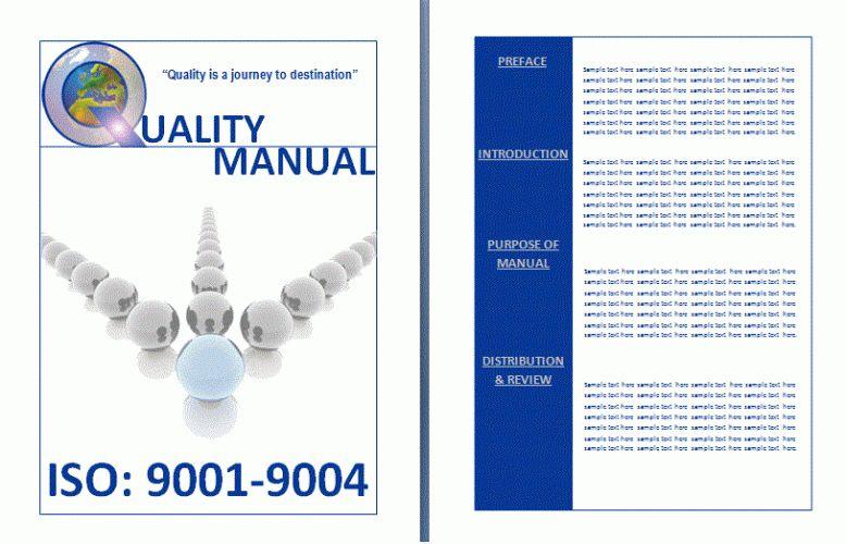 Free Manual Templates | Free Word Templates