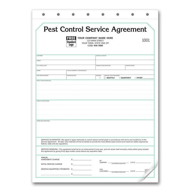 Service Agreement Template For Pest Control | Create professional ...