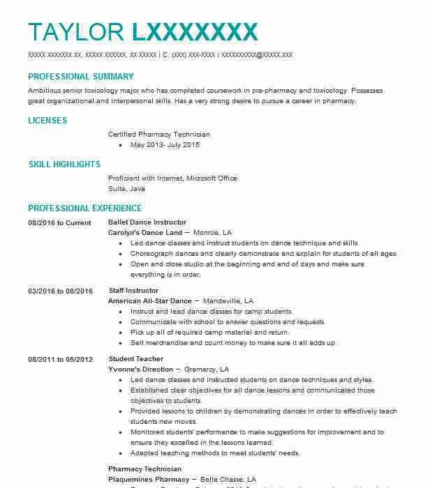 Medical Record Technician Resume Example (Omnicare Pharmacy ...