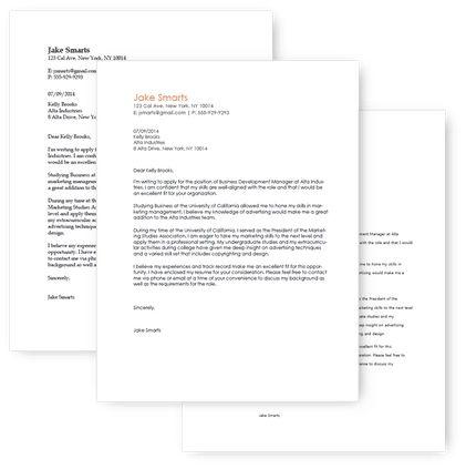 FastCoverletter| Free Cover Letter Writer