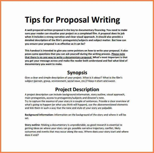 5+ Make A Proposal For A Project | Project Proposal