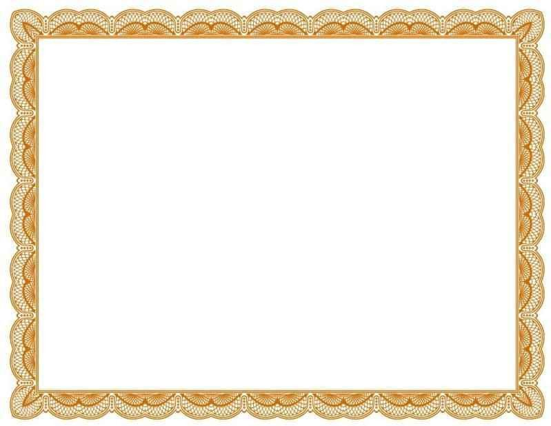 Free Certificate Border Templates - Template Update234.com ...