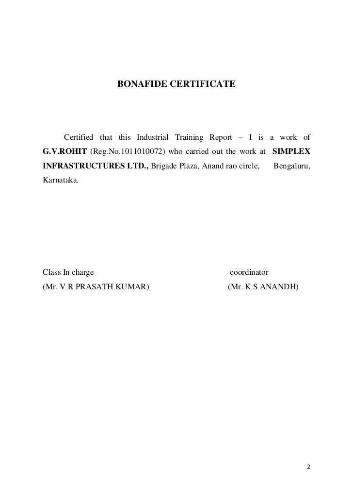 Industrial Training Report-1