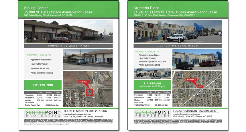 8 Best Images of Commercial Real Estate Flyer Templates - Real ...