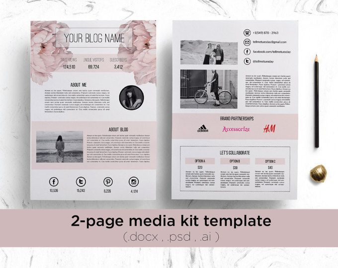 13 best Press Kits images on Pinterest | Press kits, Media kit ...