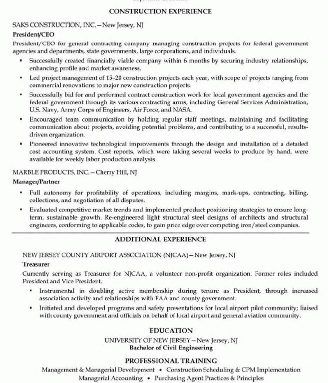 government resume exampleshow to write a resume for a federal ...
