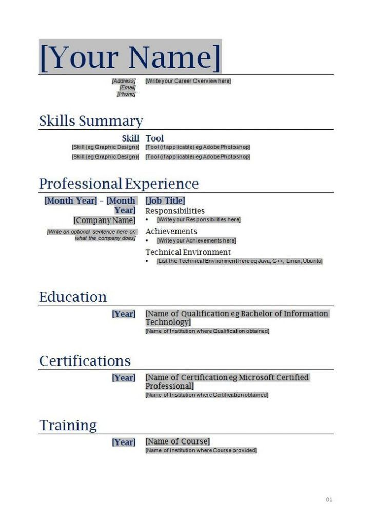my first resume template resume templates for kids 8 best resume images on pinterest - My First Resume Template