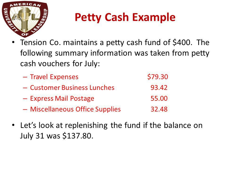 Chapter 2 Reporting and Analyzing Cash and Internal Controls - ppt ...